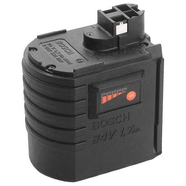 Bosch 2607335082 24 V slide-in battery pack 1.7Ah NiCd