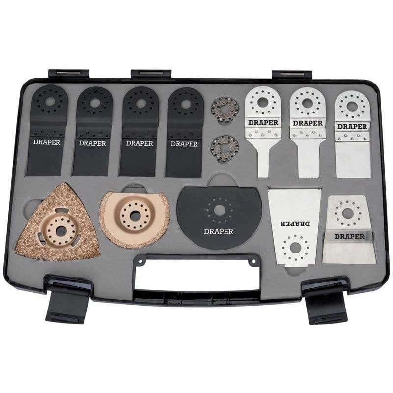 Draper 14PC OSCILLATING MULTI TOOL KIT