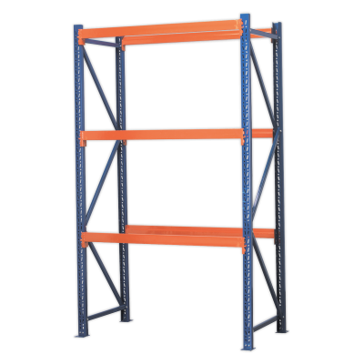 Sealey AP2700 - Shelving Unit with 3 Beam Sets 900kg Capacity Per Level