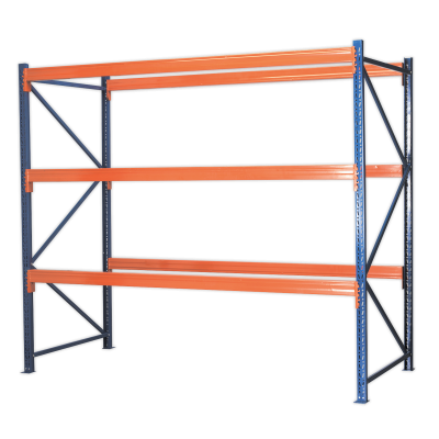 Sealey AP3000 - Racking Unit with 3 Beam Sets 1000kg Capacity Per Level