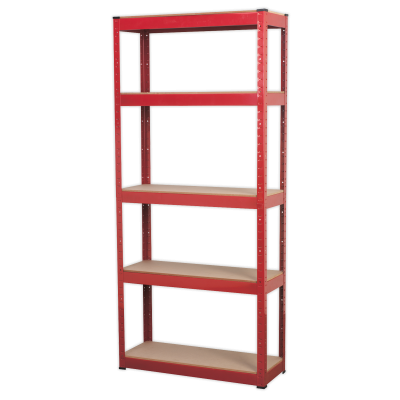 Sealey AP6150 - Racking Unit with 5 Shelves 150kg Capacity Per Level