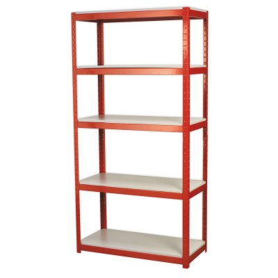 Sealey AP6500 - Racking Unit with 5 Shelves 500kg Capacity Per Level