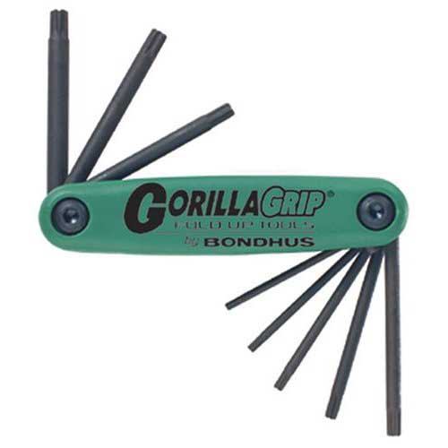 Bondhus 12634 - 8pc GorillaGrip Torx T9-T40