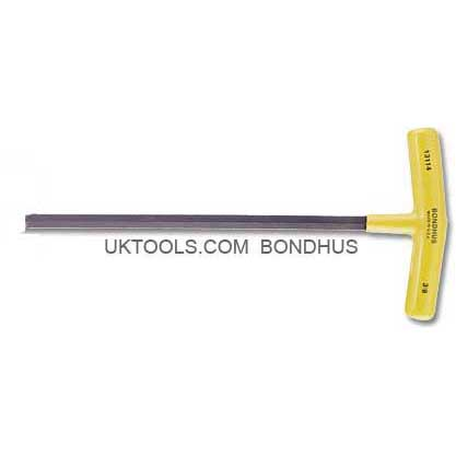 Bondhus 13312 - 1/4'' HEX T-HANDLE - 6.5'' Long