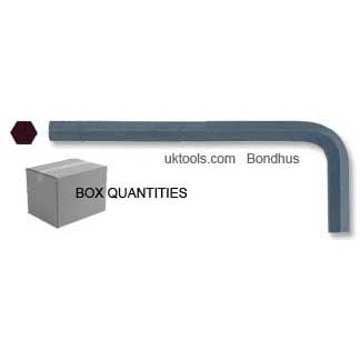 0.89mm Hex Key - Box of 100 - 68mm Long