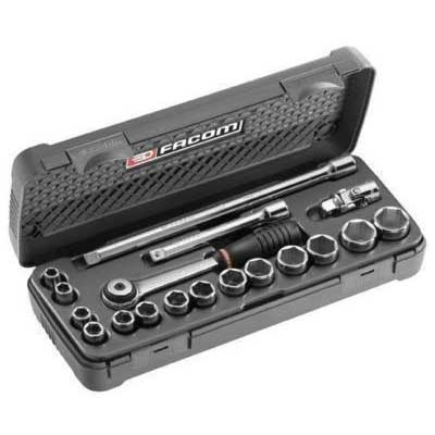 Facom J.4A 3/8 Drive 18piece METRIC SOCKET SET