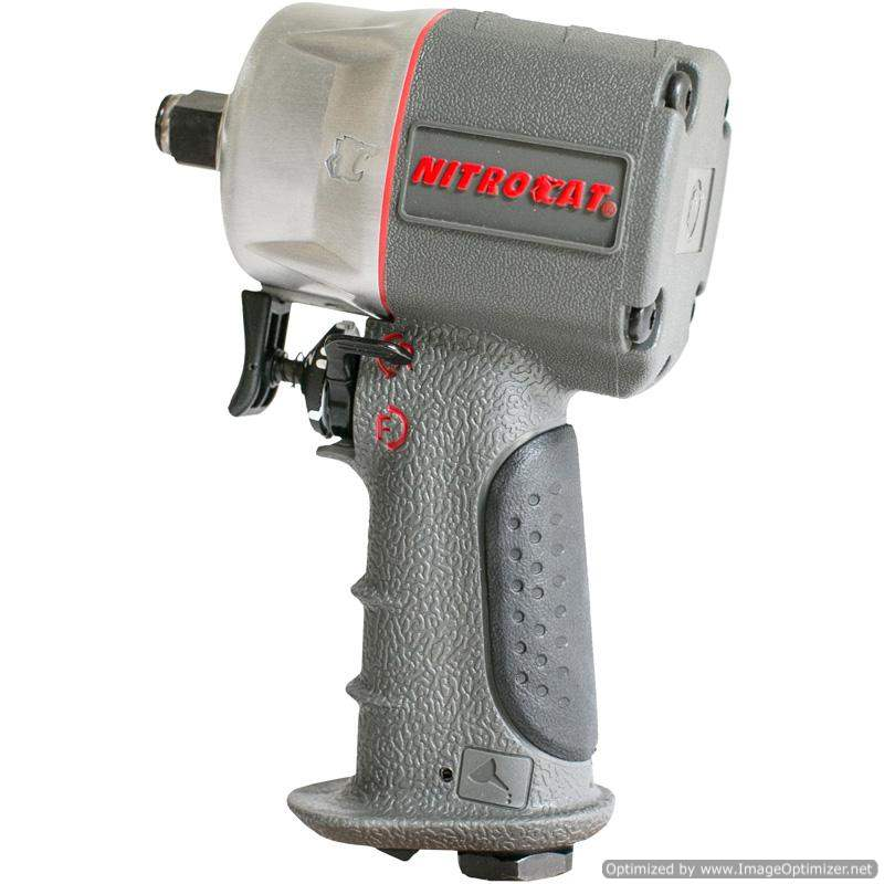 Nitrocat Air Impact Wrench Composite Compact 3/8 Dr