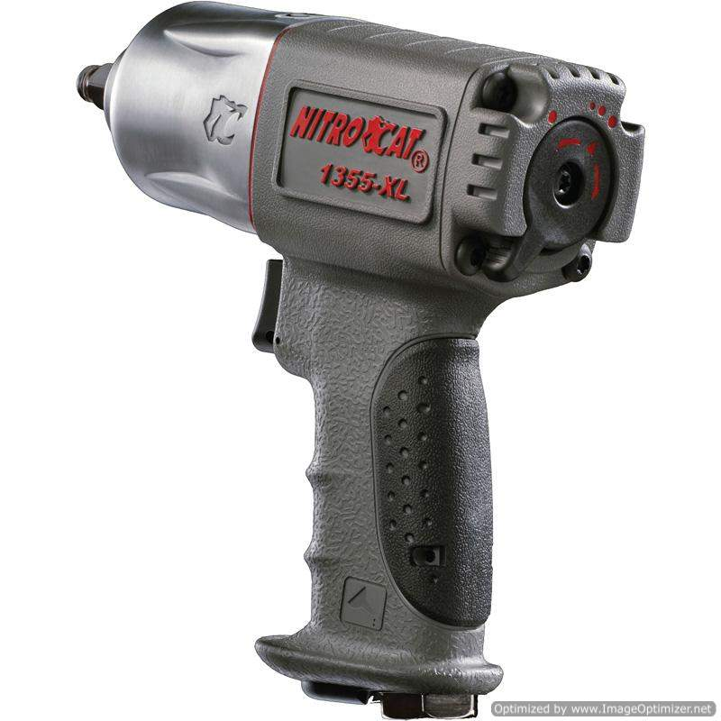 Nitrocat  Air Impact Wrench Composite 3/8 Dr 950Nm Box