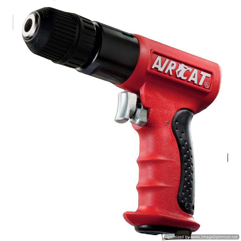 Aircat Air Drill Composite Reversible Jacobs Chuck 3/8