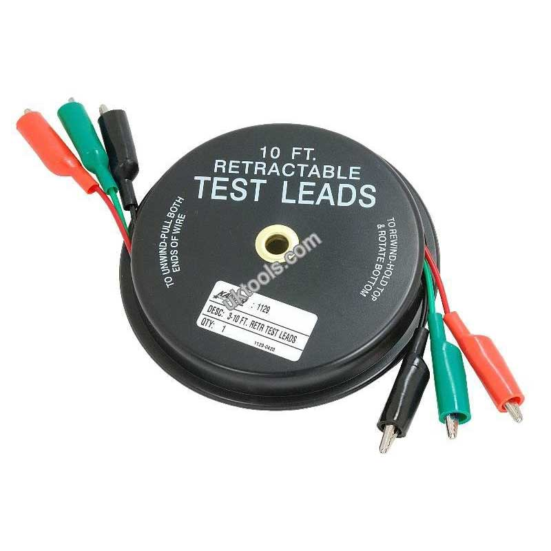 Test Leads Retractable 3 Leads x 10ft