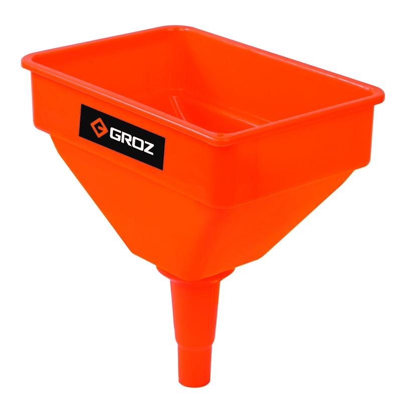 Groz Funnel Oil & Fuel 11 Inch Wide 4.7Ltr