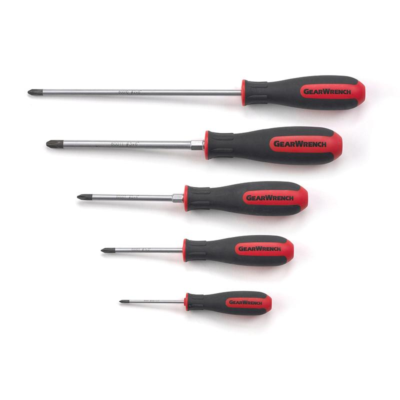 Gearwrench 5Pc Set Phillips Screwdriver