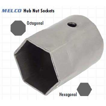 Hub Nut Socket Hex 2 1/16'' (52mm)