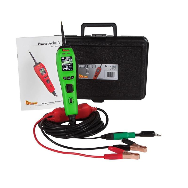 Power Probe 4 Green Diagnostic & Electronic Testers 12-24V