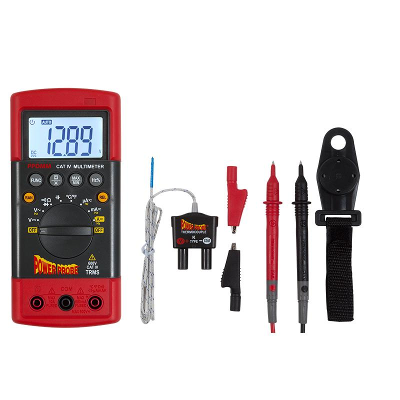 Power Probe Cat 4 Multimeter