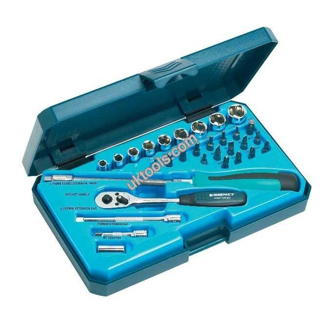 Socket Set 1/4 Dr 31pc MM