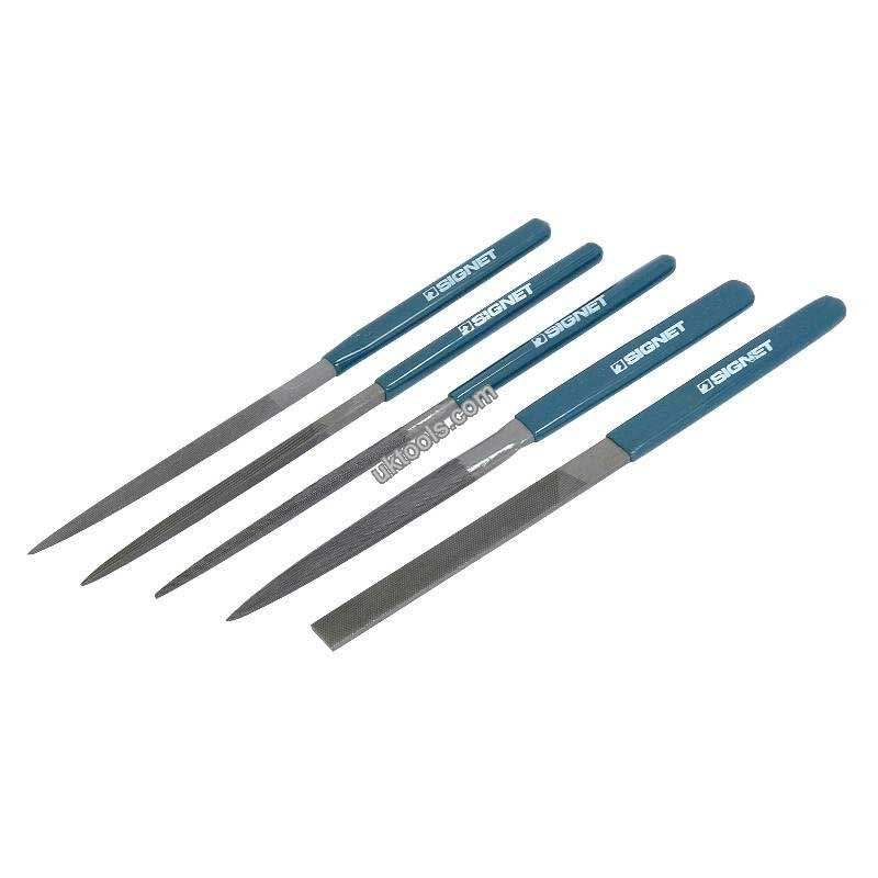 File Set 5pc High Carbon Steel
