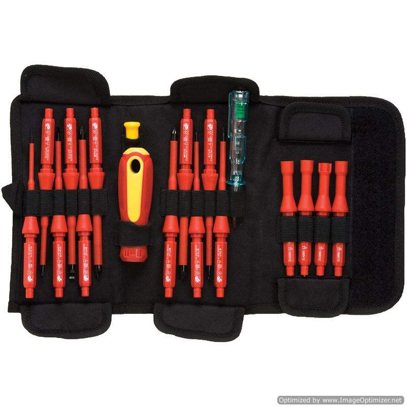 Signet 18pc VDE Interchangeable Screwdriver Set