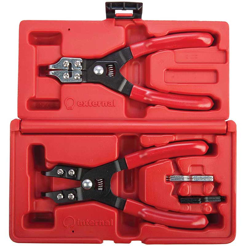 Trident Circlip Plier Set 2pc Int/Ext
