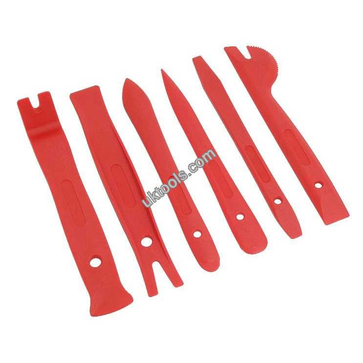 Plastic Pry Tool Set 6pc