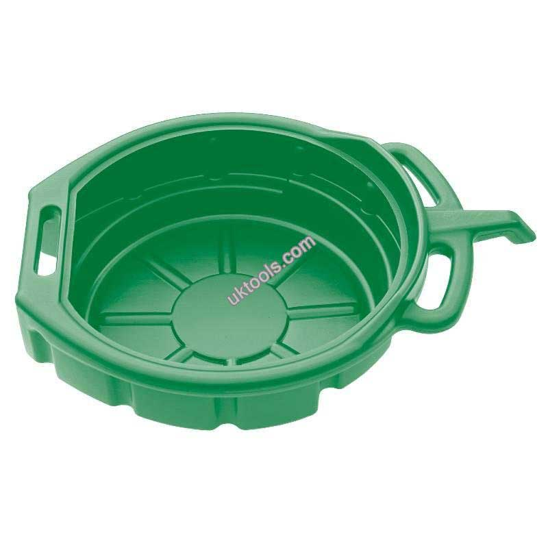 Oil Drain Pan 16L Green