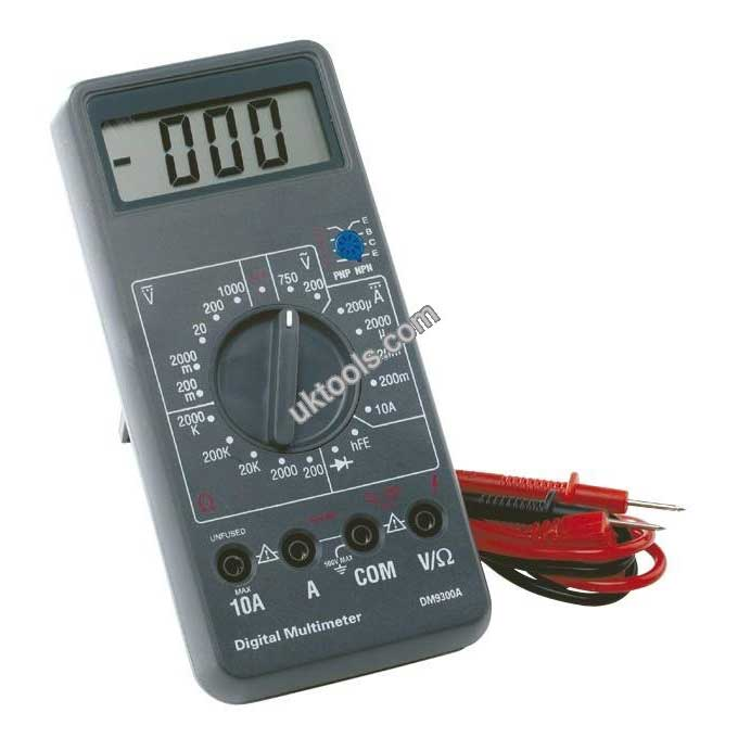 Automotive Digital Multimeter In Case