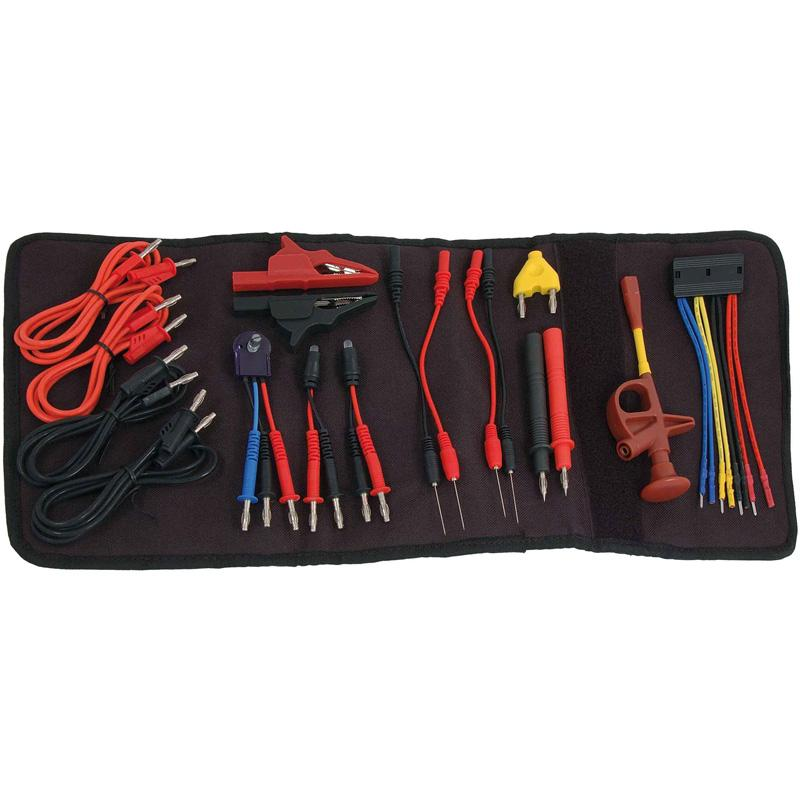 Trident Multimeter Lead and Probe Set 20pc