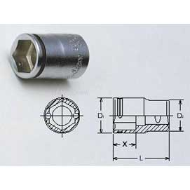 Koken 4450M-24 24mm - 1/2'' SD NUT GRIP SOCKET