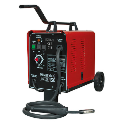 Sealey MIGHTYMIG150 - Gas/No-Gas MIG Welder 150Amp 230V