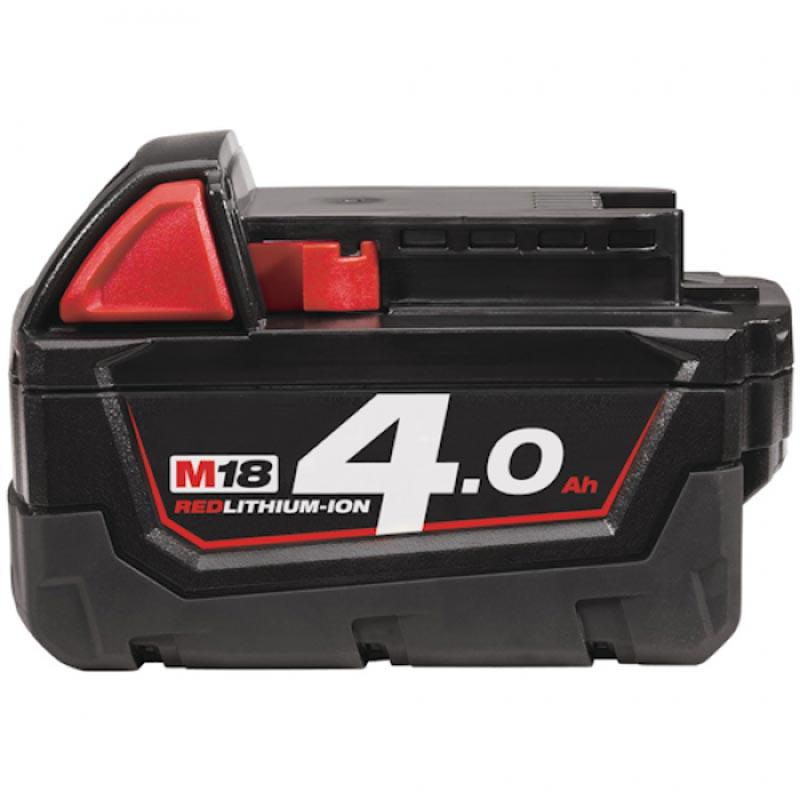 Milwaukee M18 Red Lithium-Ion Battery 4.0Ah