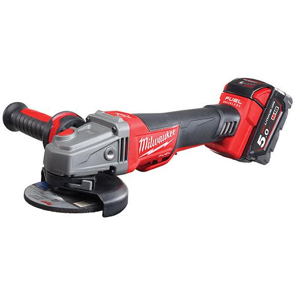 18V Braking Angle Grinder 115mm Kit