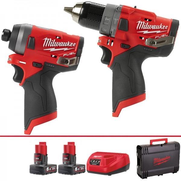 Milwaukee M12 Fuel Twin Pack