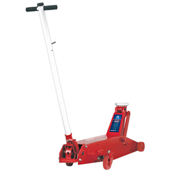 Sealey 10QJ - Trolley Jack Premier 10tonne Long Reach