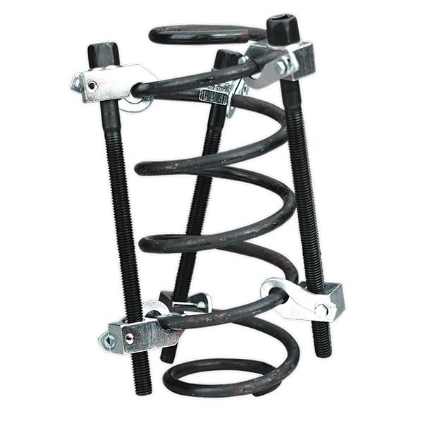 Sealey AK384 - Coil Spring Compressor 3pc with Safety Hooks