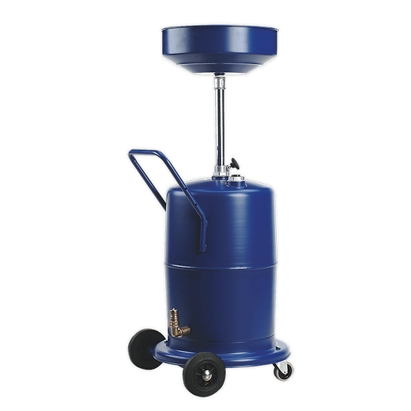 Sealey AK450DX - Mobile Oil Drainer 75ltr Pump Away