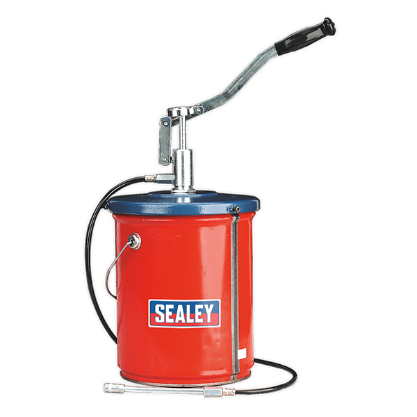 Sealey AK455 - Bucket Greaser with Follower Plate 12.5kg Extra Heavy-Duty