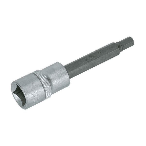 "Sealey AK657 - Hex Socket Bit 7mm Long 1/2""Sq Drive"