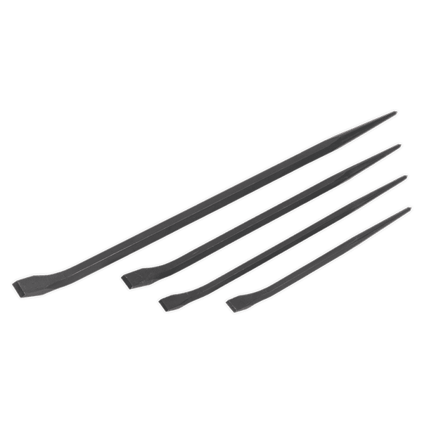 Sealey AK881 - Prybar Set 4pc 300  410  460  610mm