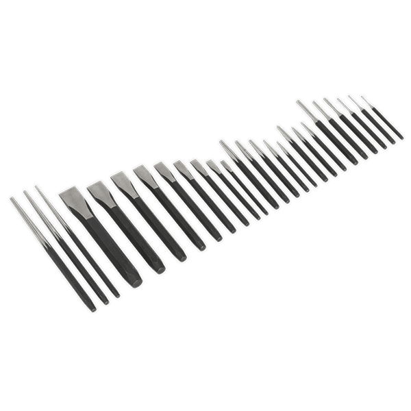 Punch & Chisel Set 26pc