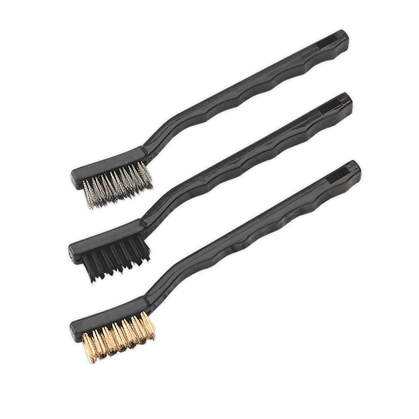 Sealey AK9791 - Brush Set 3pc Miniature
