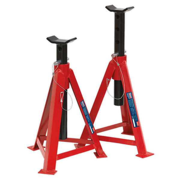Sealey AS5000M - Axle Stands 5tonne Capacity per Stand 10tonne per Pair Medium Height