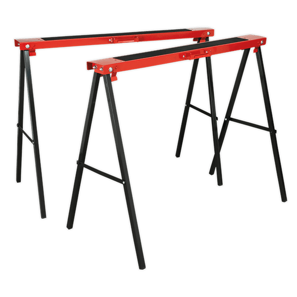 Sealey FDT2 - Fold Down Trestles Pack of 2