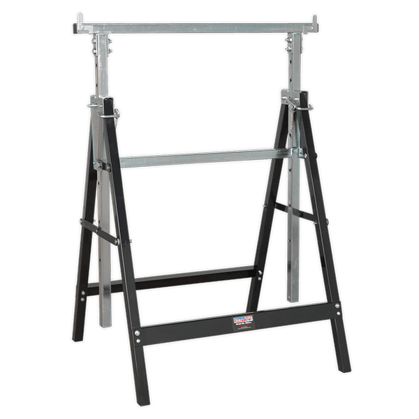 Sealey FDT3 - Fold Down Telescopic Trestle 100kg Capacity