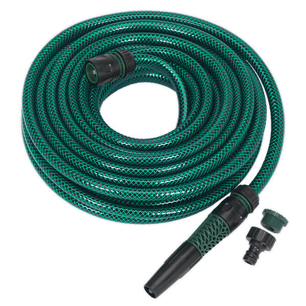 Sealey GH15R/12 - Water Hose 15mtr with Fittings
