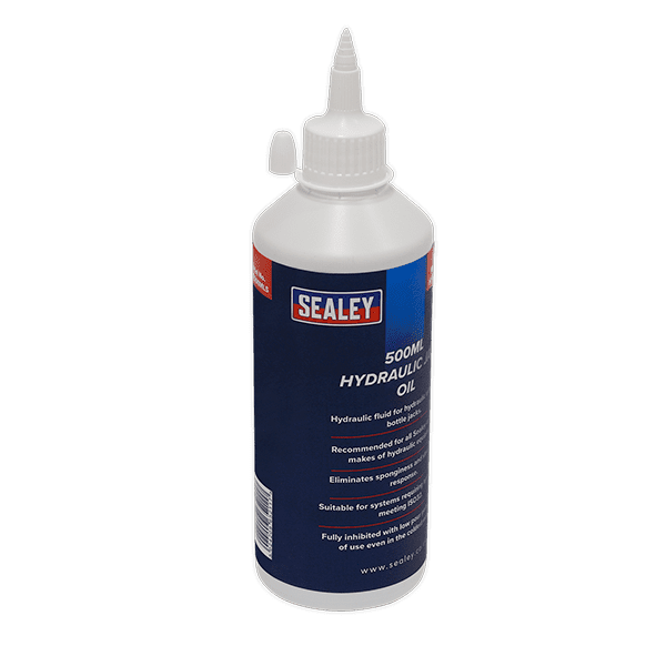 Sealey HJO500MLS - Hydraulic Jack Oil 500ml