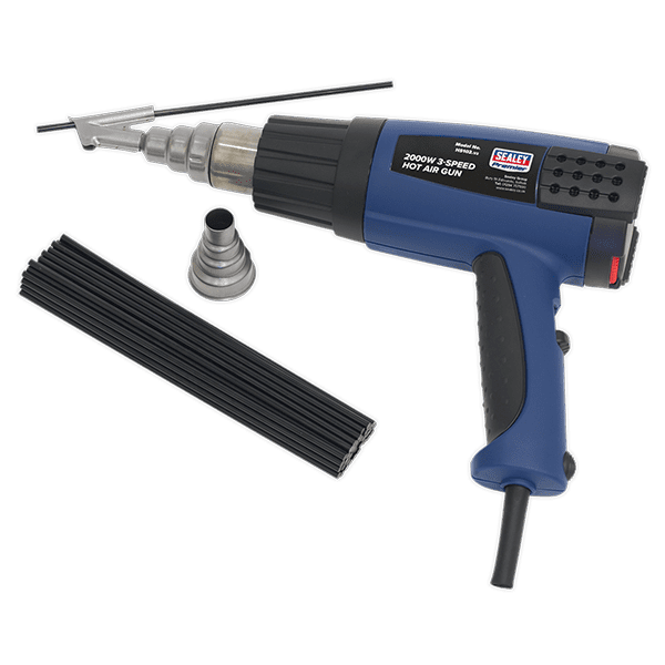 Sealey HS102K - Plastic Welding Kit Inc HS102 Hot Air Gun