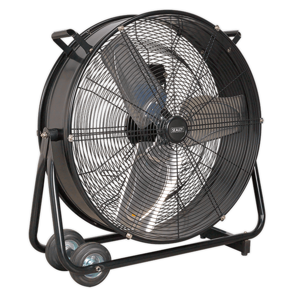 "Sealey HVD24 - Industrial High Velocity Drum Fan 24"" 230V"