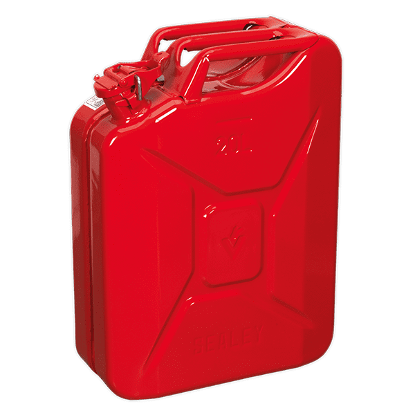 Sealey JC20 - Jerry Can 20ltr - Red