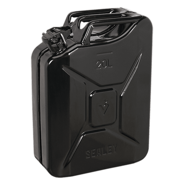 Sealey JC20B - Jerry Can 20ltr - Black