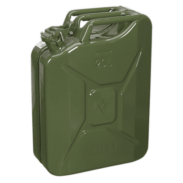 Sealey JC20G - Jerry Can 20ltr - Green